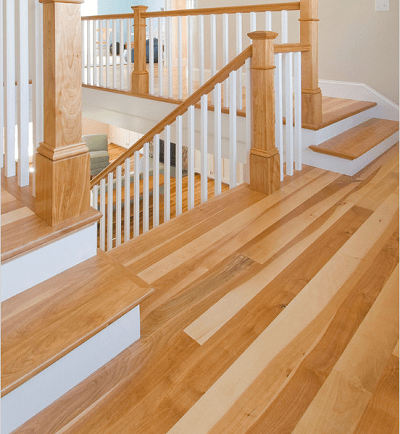 pisos en madera de abedul