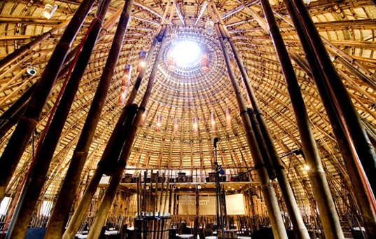 arquitectura veitnamita bambu