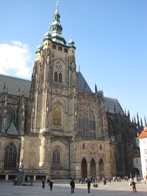 Catedral de Praga, dentro del Castillo.