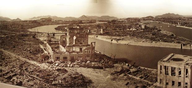 Hiroshima después de la bomba.