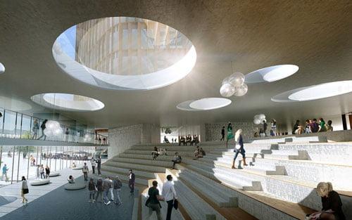 La luz natural es un imperativo cada vez mayor en arquitectura.