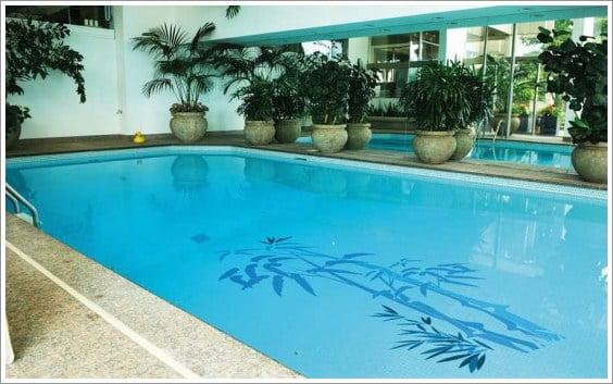 Decoraci n de piscinas con papel vinilo arkiplus - Decoracion de piscinas ...