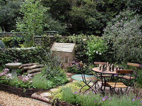 20 ideas para jardines urbanos peque os