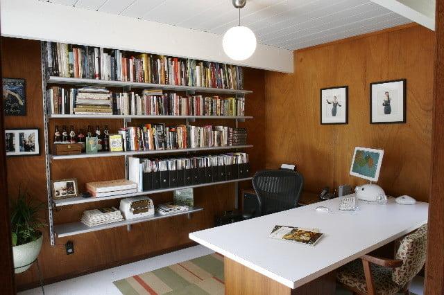 Oficinas modernas en casa for Oficina moderna en casa
