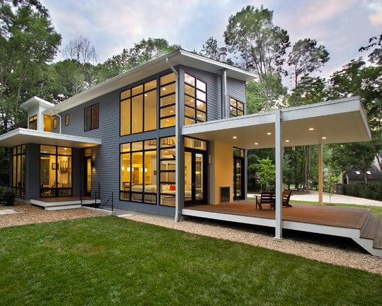 Porches de casas minimalistas arkiplus for Porches de casas pequenas
