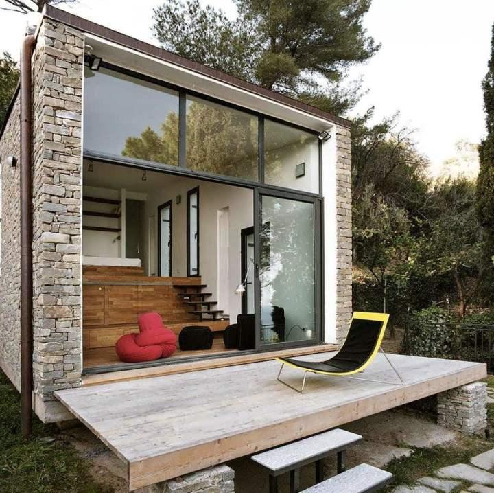 porches de casas minimalistas3 - Casas Minimalistas
