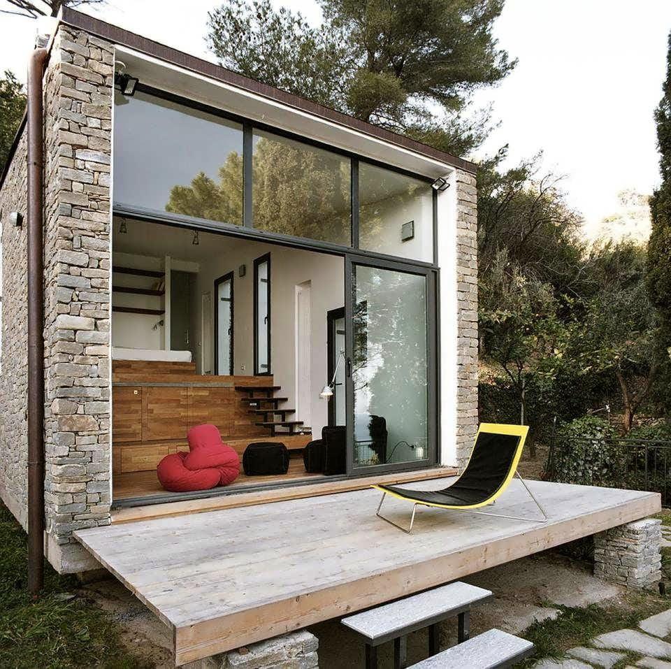 Porches modernos para casas top amazing fachada de casa - Porches de casas modernas ...