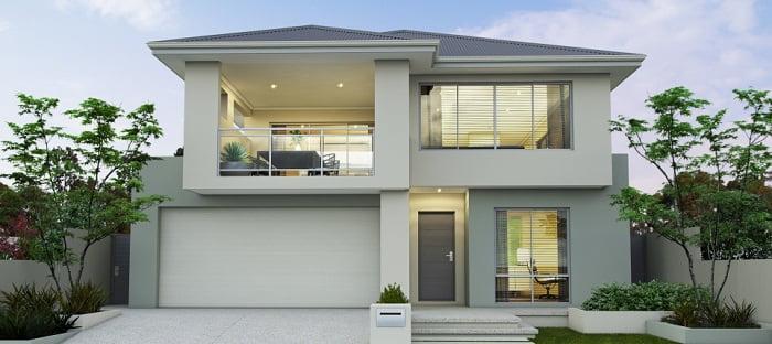 Dise os de casas de dos pisos for Planta de casa de dos pisos