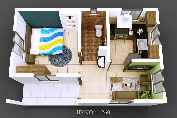 Diseños arquitectónicos de casas pequeñas - Arkiplus.com