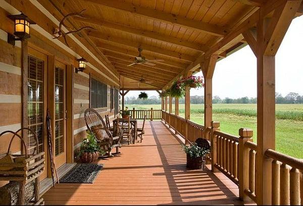 11 tipos de porches para casas - Porches de casas ...