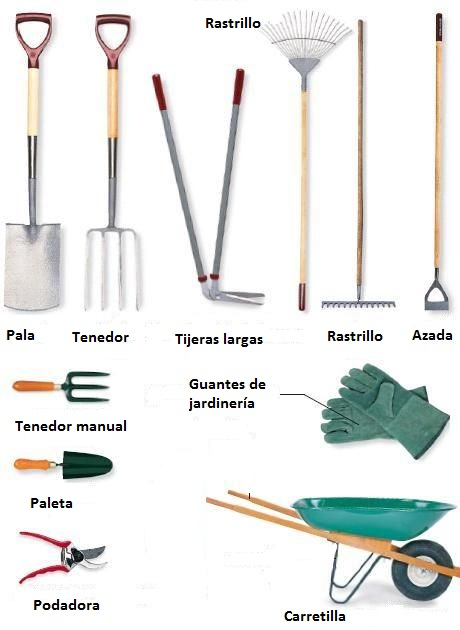 Herramientas manuales para jardiner a arkiplus for Herramientas para el jardin