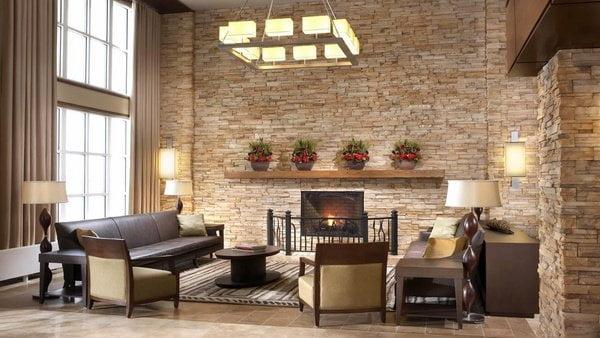 Paredes interiores de piedra - Piedra natural para paredes interiores ...