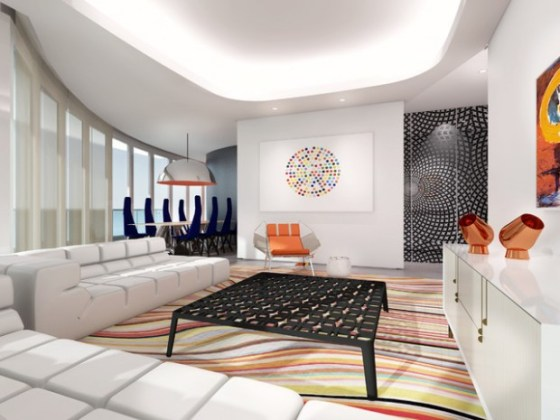 Estilo futurista en dise o interior arkiplus Diseno interior futurista