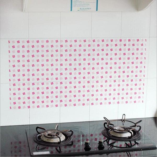 Vinilos decorativos para cocina for Vinilos pared cocina