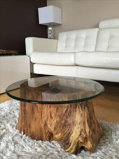 Muebles de troncos r sticos for Muebles con troncos