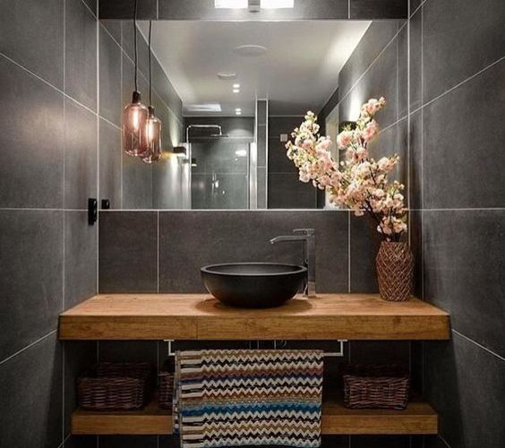 100+ Small Bathroom Ideas and Style Photo Gallery ... on Simple Bathroom Designs For Small Spaces  id=33498