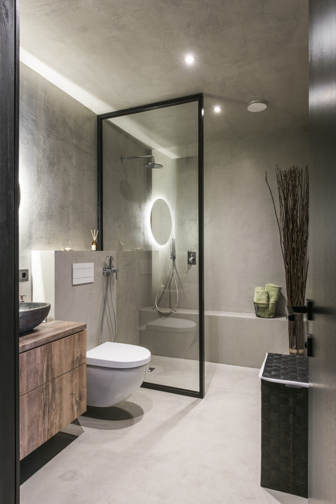 modern bathroom designs 2018, water closet decorating ideas, what to hang on bathroom wall, decorating toilet tank top,