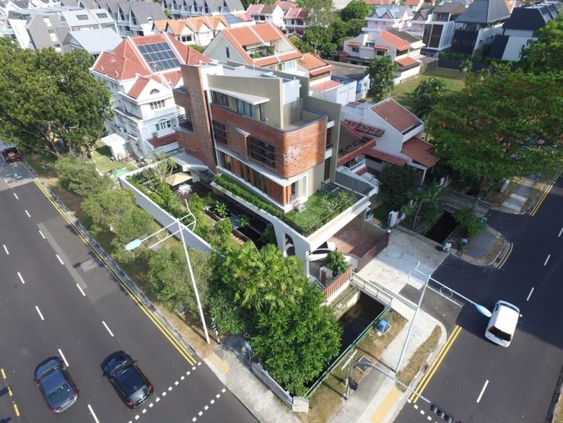 Semi Detached House 22 Jalan Kembangan Design By Timurdesigns In