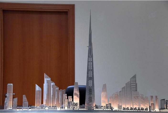 jeddah tower progress, jeddah tower construction, jeddah tower vs burj khalifa,