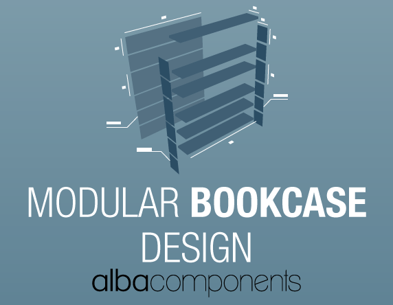 Modular Bookcase Design Competition, Metalmeccanica Alba, Bookcase Design Competition, AlbaComponents, Modular furniture, Product design competition,