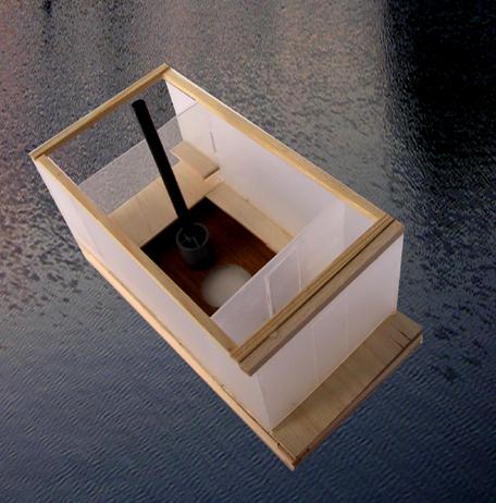 Sauna. Model.