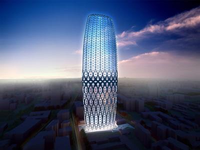 Dorobanti Tower di Zaha Hadid