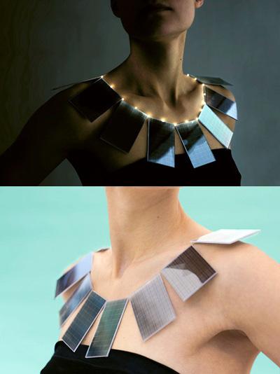lux solar panel jewelry