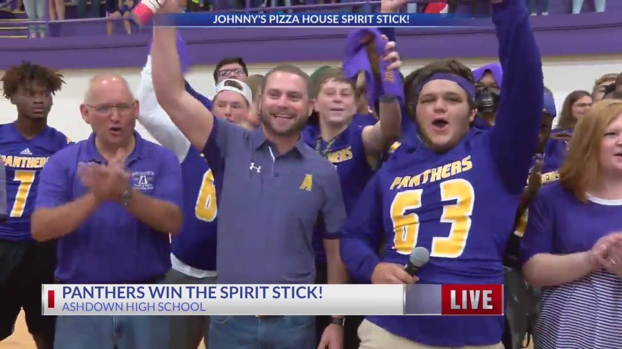 Panthers win the Spirit Stick!