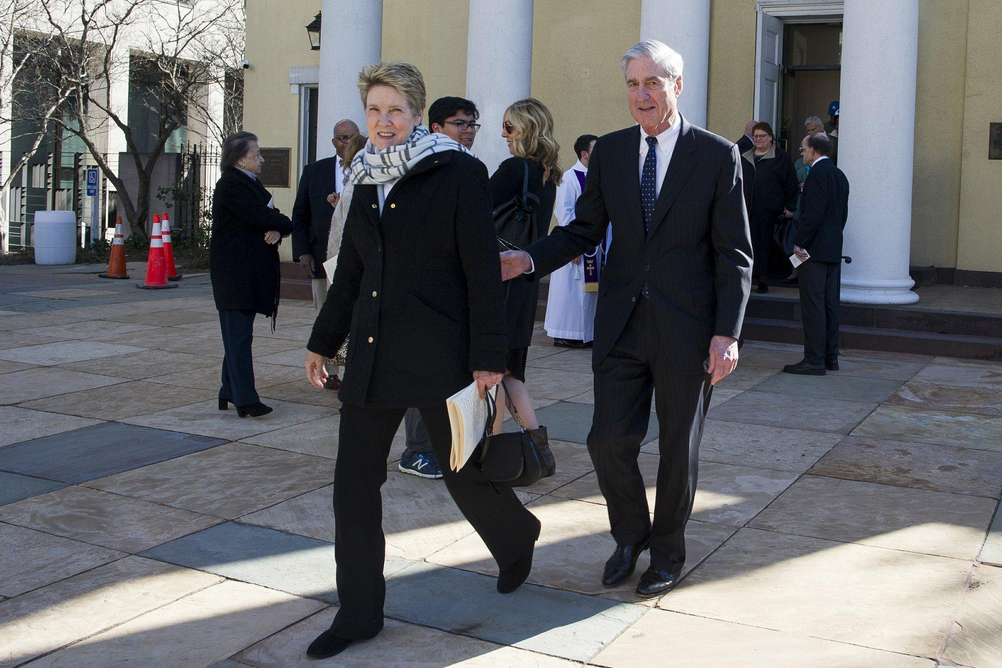 Robert Mueller and wife Ann depart from St. John's Episcopal Church 3-24-19_1553452207219.jpeg.jpg