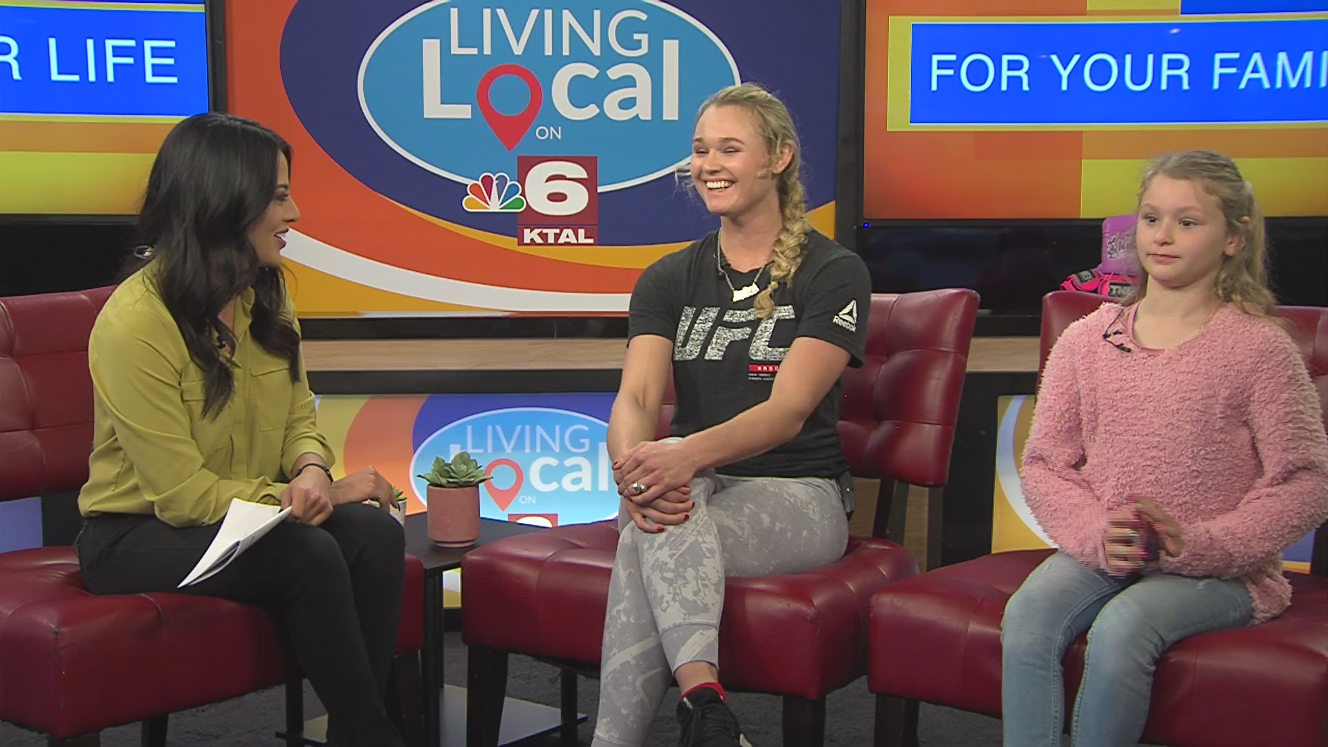 UFC fighter Andrea Lee talks women empowerment