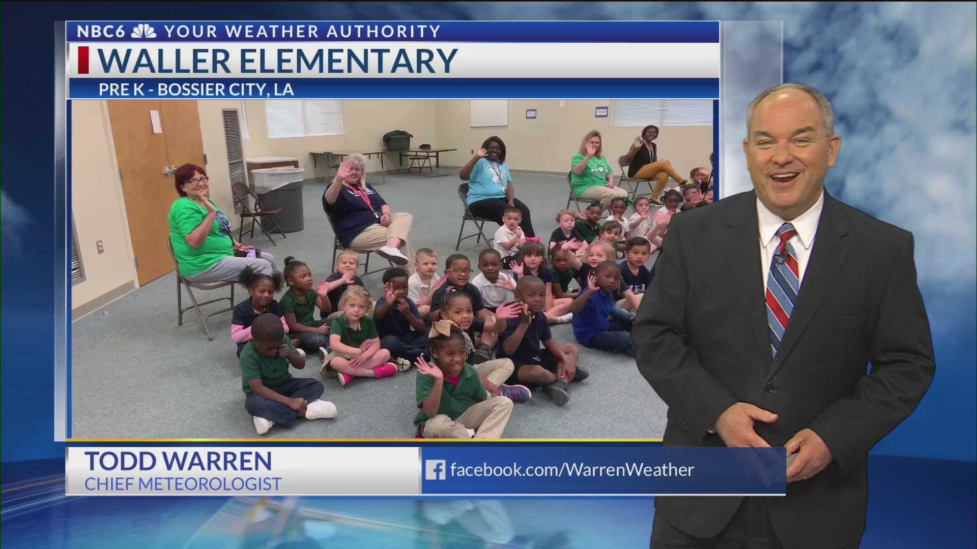 Waller Elementary welcomes Todd Warren