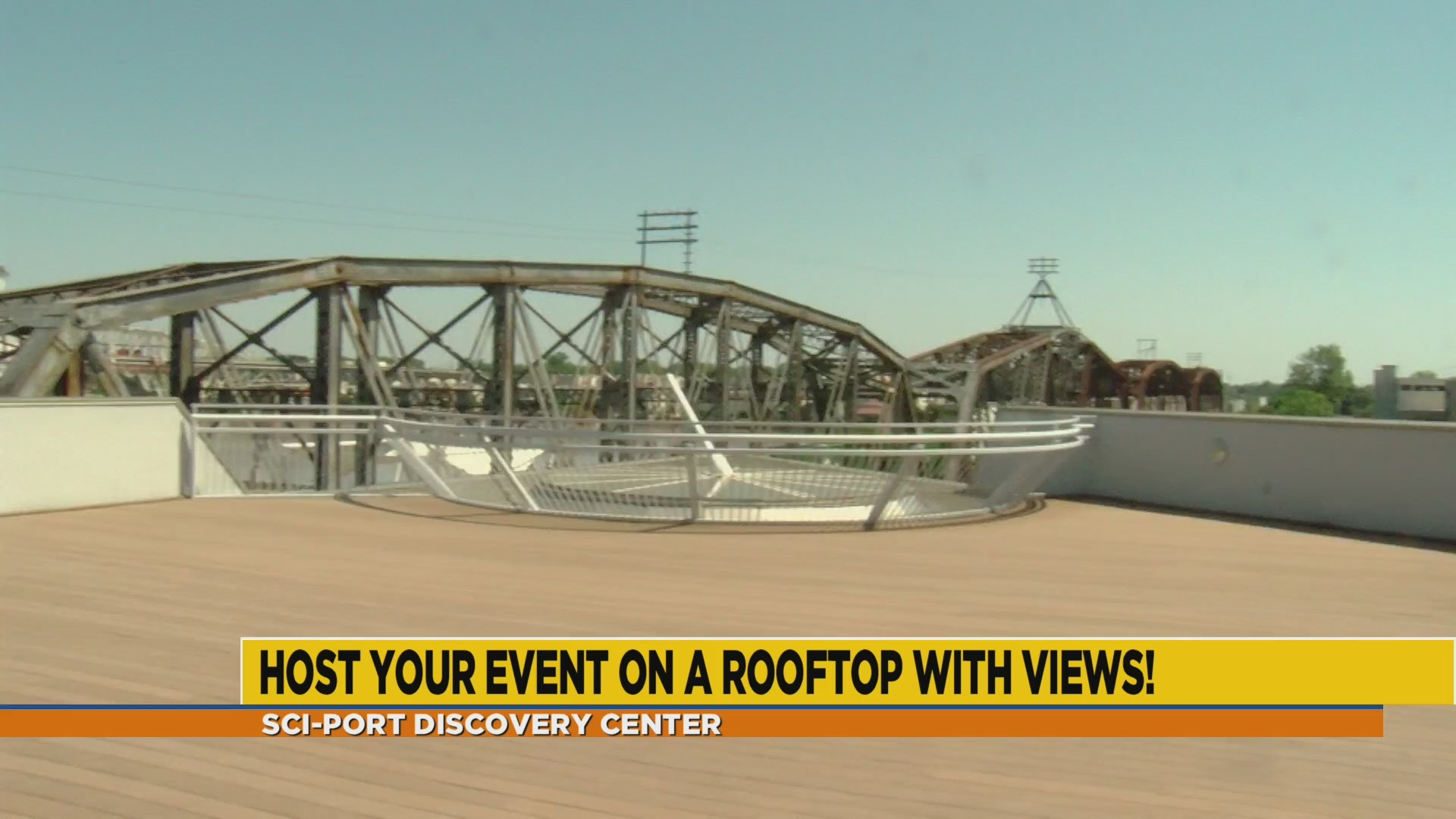 Sci-Port's new rooftop venue for adult events