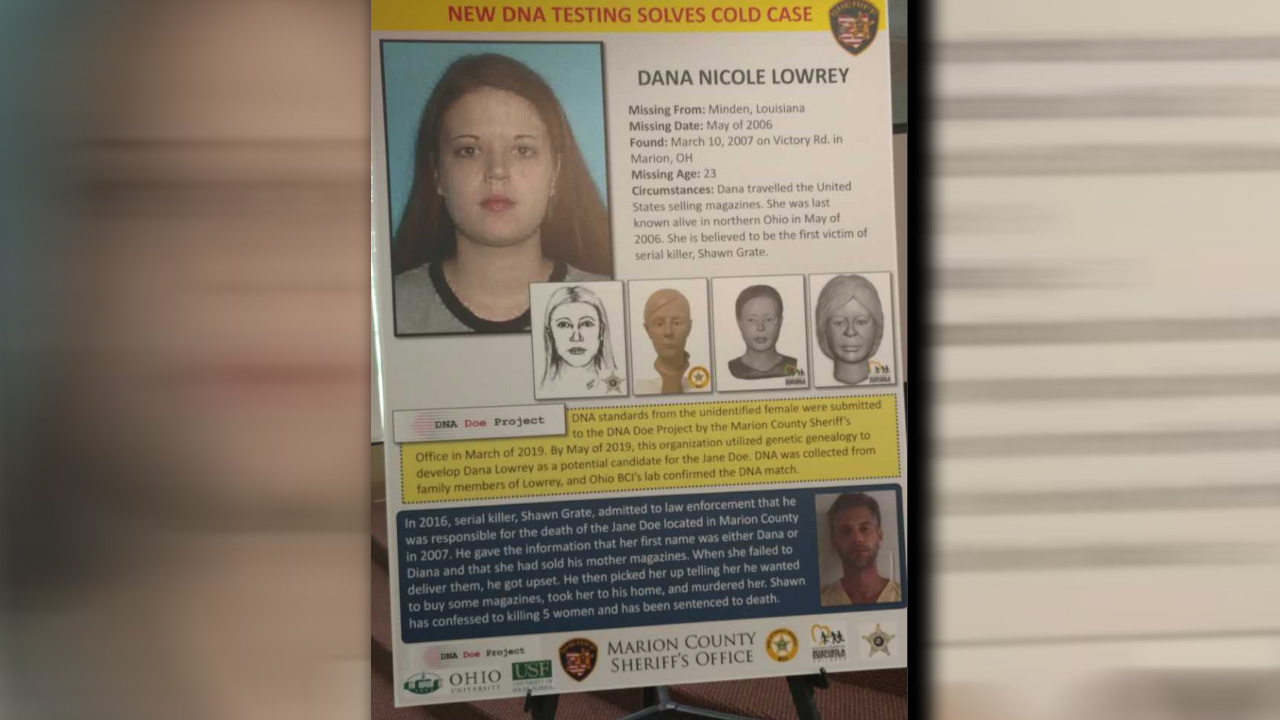 Skeletal remains of Minden woman believed to be first victim