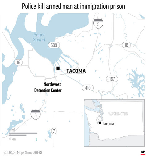 TACOMA DETENTION CENTER-SHOOTING