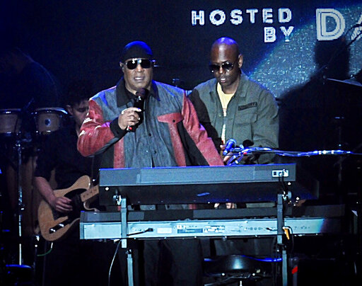 Stevie Wonder, Dave Chappelle