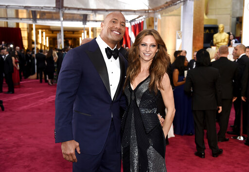 Dwayne Johnson, Lauren Hashian