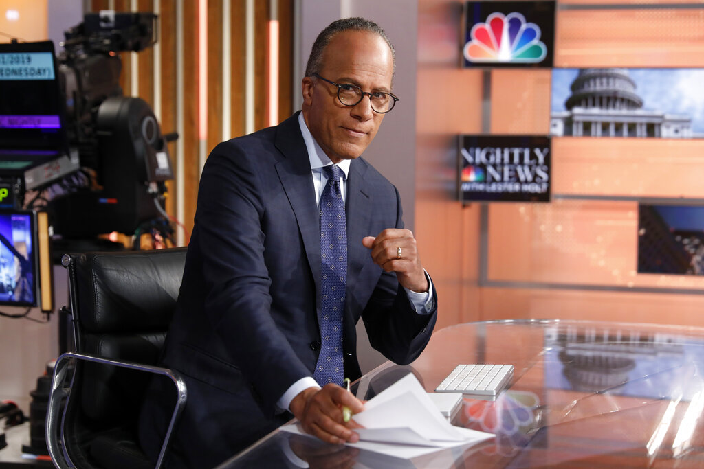 NBC's Lester Holt spends 2 nights in Angola for news show