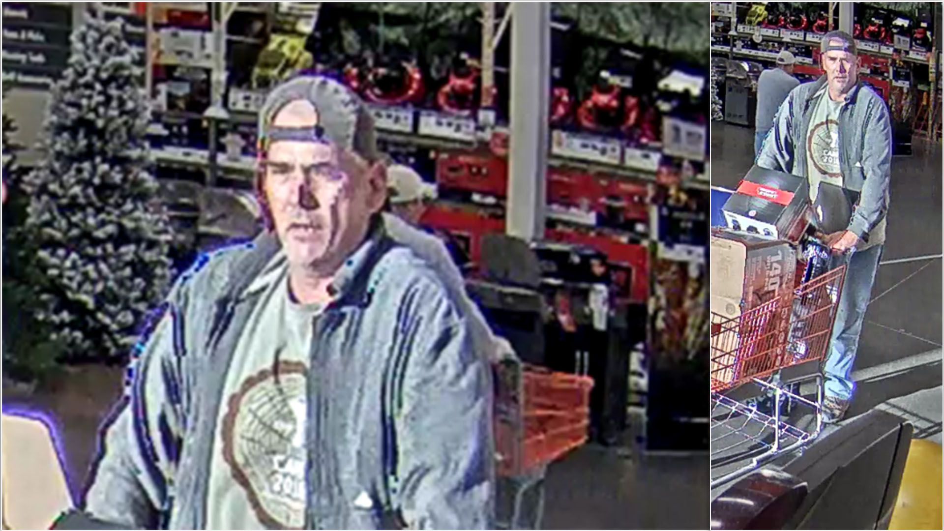 Spd Releases Photos Of Possible Suspect In Home Depot Theft