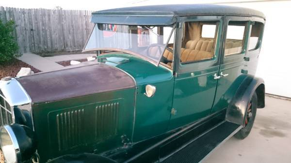 CLASSIC 1928 Durant 4 door 6 cyl (texas) $8500