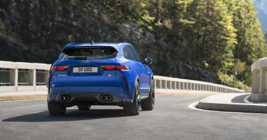 2021 Jaguar F-Pace SVR arrives with extra grunt from supercharged V-8