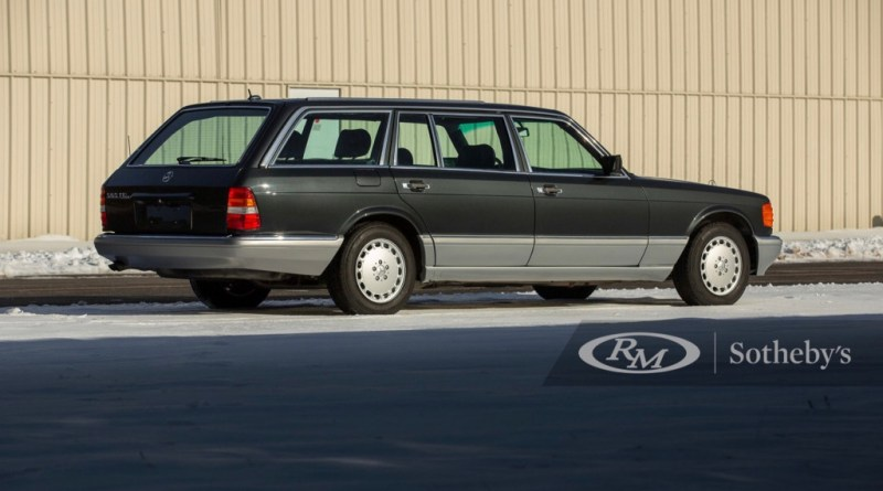 1990 Mercedes-Benz 560 TEL Estate by Caro heads to auction