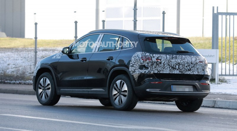 2022 Mercedes-Benz EQA spy shots: Entry-level EV coming soon