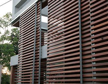 O brise de alumínio é um acabamento surpreendente que agrega muito para harmonização e estética de residências e empresas. Brises De Aluminio Arktipo Esquadrias De Aluminio Rj