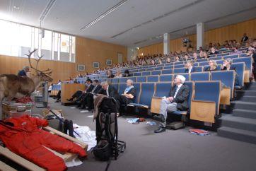 Podiumsdiskussion im Hörsaal