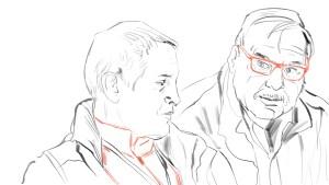 Flugzeugingenieur Martin und Pilot Bill
