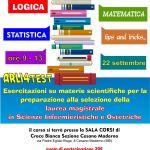 Arli4test – giornata di preparazione ai test di selezione per la Laurea Magistrale