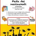 12 nov. Festa dei neolaureati a Pavia