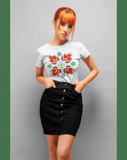 Дамска Тениска с шевица 1