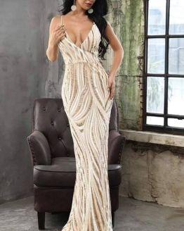 Дълга официална рокля Рания