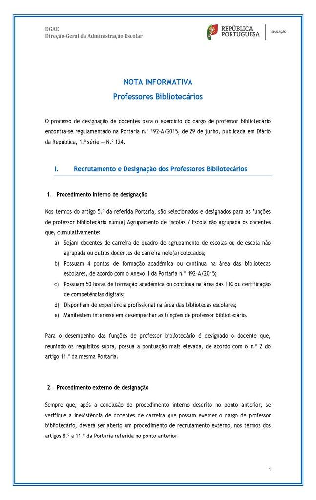 Nota Informativa - Professores Bibliotecários 2016-2017_Página_1